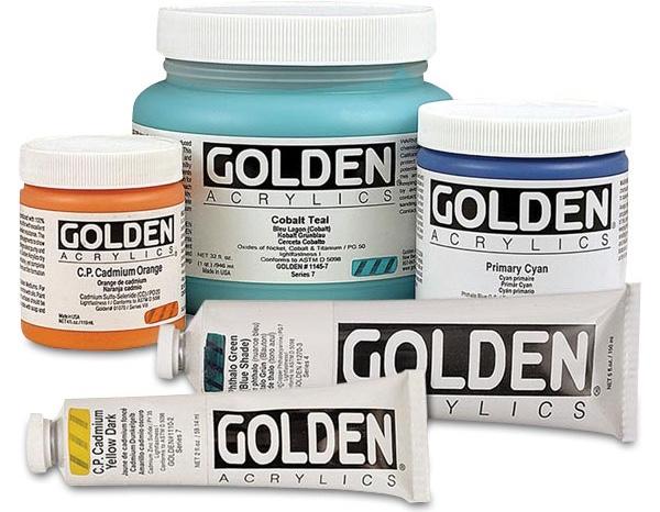 golden acrylics kursus i farvebuen